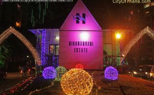 Diwali Carnival of lights, Entrance Gate, Hiranandani Estate, Thane