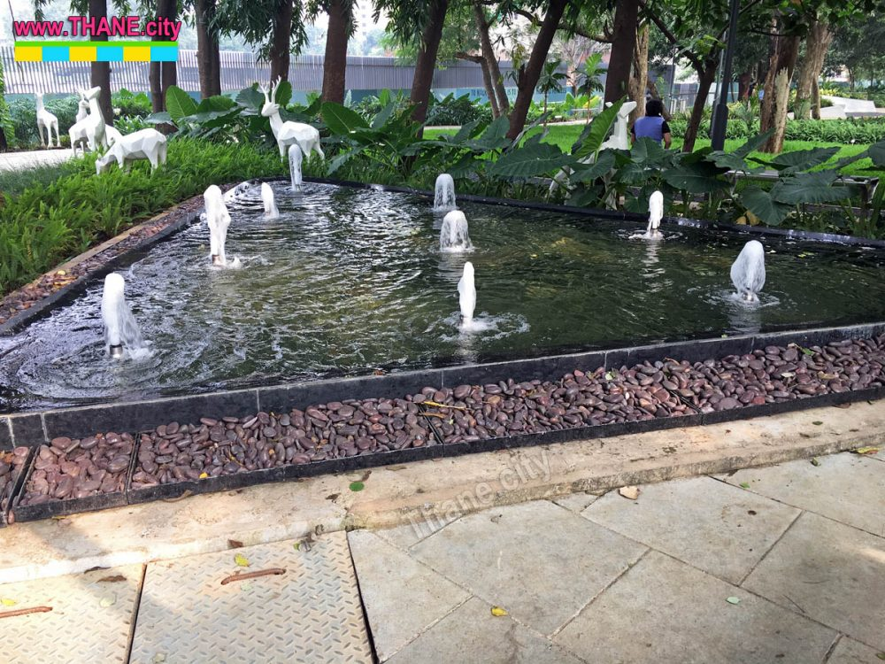 Thane Community Park Fountain